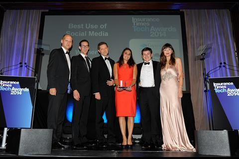 TechAwards 2014 Best Use of Social Media: Lloyd's of London